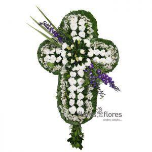 envia cruces de flores para difuntos