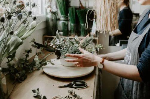 taller de flores y mas flores